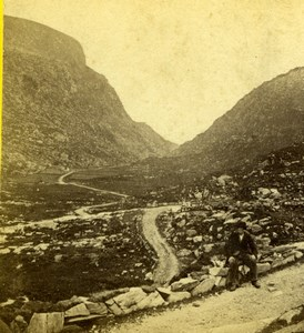 Ireland Killarney Gap of Dunloe General View Old Photo 1870's