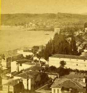 Turkey Constantinople Bosphorus Old Sophus Williams Photo 1870