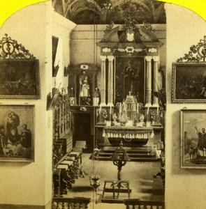 Switzerland Grand St Bernard Hospice Alpine Club Old William England Photo 1863