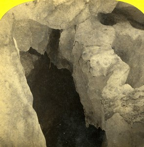Savoie Chamonix Caverne de Glace Glacier Alpine Club William England Photo 1863