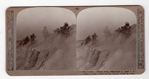 WWI Battle of Loos Gas Masks Old Realistic Travels Stereoview Photo 1915