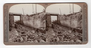 WWI Lens Railway Operating Division Realistic Travels Stereoview Photo 1914-1918