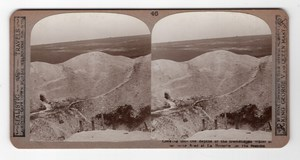 WWI Somme La Boisselle Old Realistic Travels Stereoview Photo 1914-1918