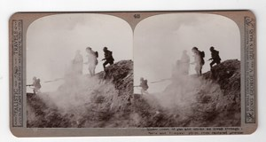 WWI Thiepval Serre Old Realistic Travels Stereoview Photo 1914-1918