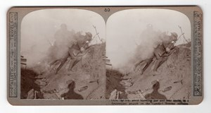 WWI Somme Battle Old Realistic Travels Stereoview Photo 1914-1918