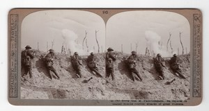 WWI Battle of Passchendaele Old Realistic Travels Stereoview Photo 1914-1918