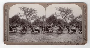 WWI Ypres Ploegsteert Old Realistic Travels Stereoview Photo 1914-1918