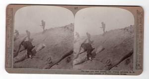 WWI Passchendaele Ridge Old Realistic Travels Stereoview Photo 1914-1918