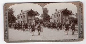 WWI La Bassee London Territorials Realistic Travels Stereoview Photo 1914-1918