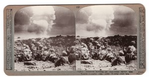 WWI Battle of Neuve Chapelle Old Realistic Travels Stereoview Photo 1915
