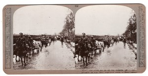 WWI Somme Gommecourt Artillerie Ancienne Photo Stereo Realistic Travels 1916