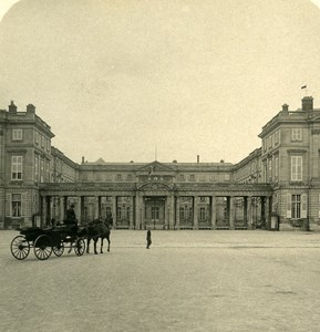 France Compiegne Castle Facade Architecture Old NPG Stereoview Photo 1900