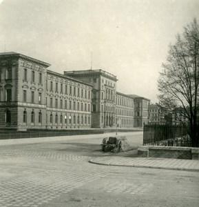 Allemagne Munich College Technique Technische Hochschule Ancienne Photo Stereo NPG 1900