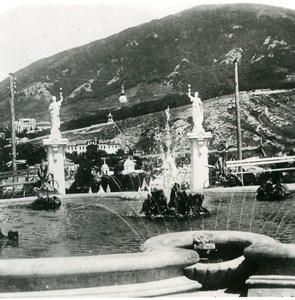 Caucasus Pyatigorsk Fountain ????????? Old Photo Stereoview NPG 1906
