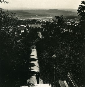 Caucasus Pyatigorsk Boulevard ????????? Old Photo Stereoview NPG 1906