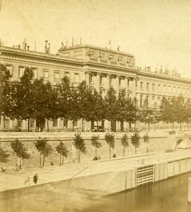 France Paris Hotel de la Monnaie Ancienne Photo Stereo 1870