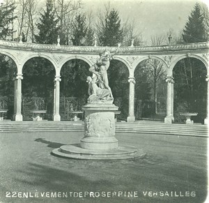France Paris Versailles Castle Garden Proserpina Old Photo Stereoview 1900