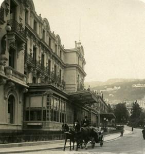 France Monte Carlo Hotel de Paris Old Stereo Photo NPG 1905
