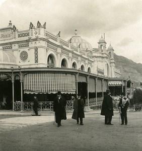 France Monte Carlo Cafe de Paris Old Stereo Photo NPG 1905