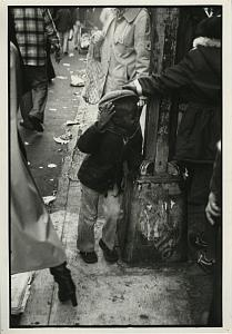 Unhappy Black Boy in Street Chris Mackey Photo 1979