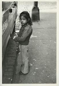 Little Girl w/ Dark Look Chris Mackey Photo 1978