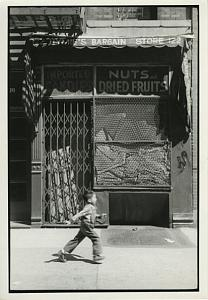 Boy in a Hurry Ludlow Street Chris Mackey Photo 1980