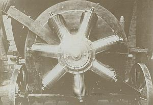 Odessa? Gnome Rotary Engine Trials Russian Aviation old Photo Lot 1910's