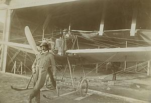 Polish Aviator Michal Scipio del Campo Hanriot Monoplane Russia Photo Lot 1910