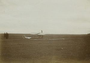 Boris Rossinsky Bleriot Airplane Russia Photo Lot 1911