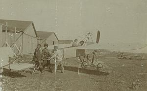 Russian Kuzminski Bleriot Airplane Aviation Photos 1911