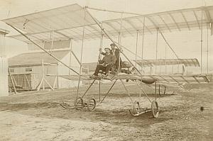 Farman or Boxkite Biplane Russian Aviation Photo 1911
