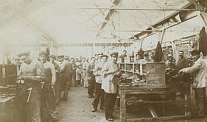 Aviation Gnome Engine Factory Moscow old Photo Lot 1913