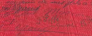 French Aviation Pioneers Signed Banner Russia 1913-1914