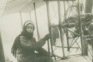 Joseph Cei Deadly Crash Italian Early Aviation old Photo 1911