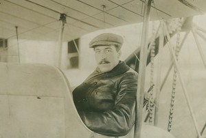 French Aviator Pierre Landron Death Crash Early Aviation old Meurisse Photo 1911