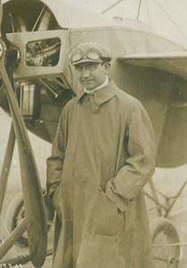 Charles Terres Weymann Aviation Pioneer old Photo 1910