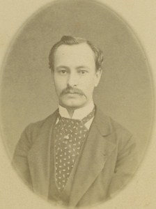 Jules Gastambide Aviation Pioneer old CDV Photo 1877