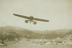 Hydravion Nieuport Monaco Schneider Cup old Photo 1913