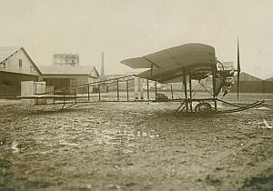 Paul Zens Monoplane Gyp engine Aviation old Photo 1911