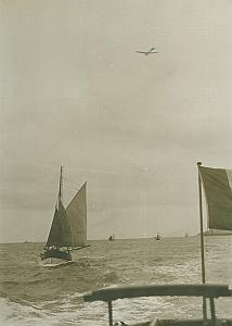 Latham sur Antoinette Monoplane Aviation old Photo 1910