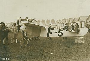 Ponnier Monoplane Gordon Bennett Aviation Photo 1913