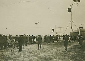 Deperdussin Monoplane in flight Aviation Photo 1911