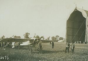 Military Borel Monoplane French Aviation Photo 1911