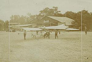 Etrich Taube Goedecker Monoplane Aviation Photo 1910