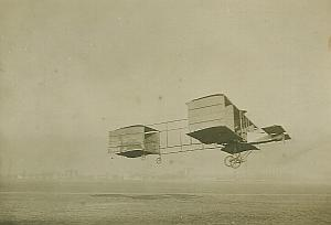 Delagrange Voisin Biplane Aviation Photo 1908