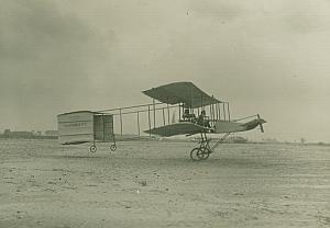 Henri Farman Voisin Biplane Aviation Photo 1908