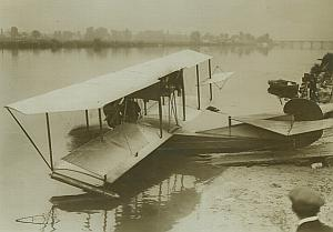 Sperry Curtiss Flying Boat Aviation old Photos 1914