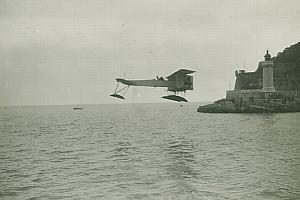 Canard Voisin Hydroplane Monaco Aviation Photo 1913