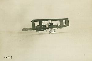 Moore Brabazon Voisin Biplane Aviation old Photo 1908