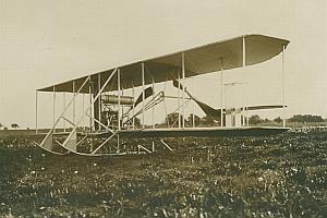 Wright Astra Biplane Aviation old Photo 1912